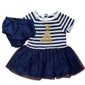 Gap Disney Belle Dress and Bloomers